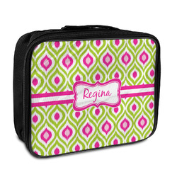 Ogee Ikat Insulated Lunch Bag (Personalized)