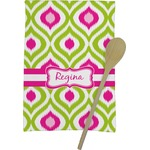 Ogee Ikat Kitchen Towel - Full Print (Personalized)