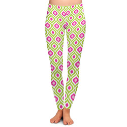 Ogee Ikat Ladies Leggings - Extra Large (Personalized)