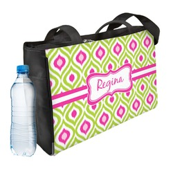Ogee Ikat Ladies Workout Bag (Personalized)