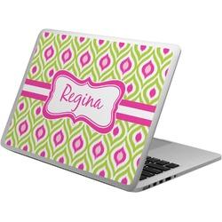 Ogee Ikat Laptop Skin - Custom Sized (Personalized)