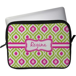 """Ogee Ikat Laptop Sleeve / Case - 13"""" (Personalized)"""