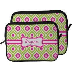 Ogee Ikat Laptop Sleeve / Case (Personalized)