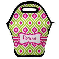 Ogee Ikat Lunch Bag (Personalized)