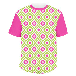 Ogee Ikat Men's Crew T-Shirt (Personalized)