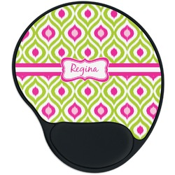 Ogee Ikat Mouse Pad with Wrist Support