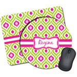 Ogee Ikat Mouse Pads (Personalized)