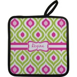 Ogee Ikat Pot Holder (Personalized)