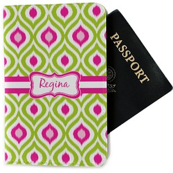Ogee Ikat Passport Holder - Fabric (Personalized)