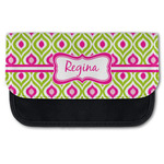 Ogee Ikat Canvas Pencil Case w/ Name or Text