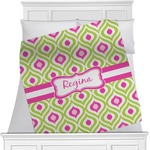 Ogee Ikat Blanket (Personalized)
