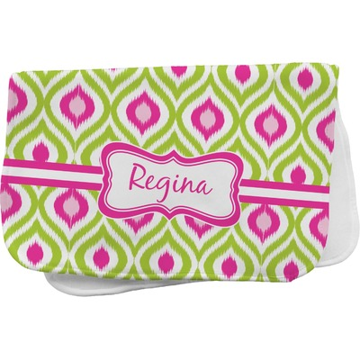 Ogee Ikat Burp Cloth Personalized Youcustomizeit