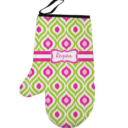 Ogee Ikat Left Oven Mitt (Personalized)