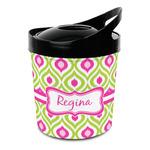 Ogee Ikat Plastic Ice Bucket (Personalized)