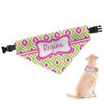Ogee Ikat Dog Bandana (Personalized)