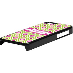 Ogee Ikat Plastic iPhone 5C Phone Case (Personalized)