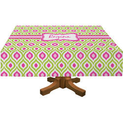 Ogee Ikat Tablecloth (Personalized)