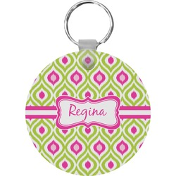 Ogee Ikat Keychains - FRP (Personalized)