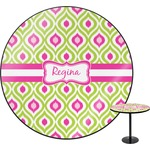 Ogee Ikat Round Table (Personalized)