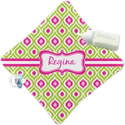Ogee Ikat Security Blanket (Personalized)