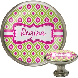 Ogee Ikat Cabinet Knobs (Personalized)
