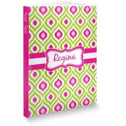 Ogee Ikat Softbound Notebook (Personalized)