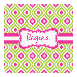Ogee Ikat Square Decal - Custom Size (Personalized)