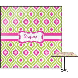 Ogee Ikat Square Table Top (Personalized)