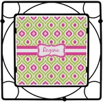 Ogee Ikat Square Trivet (Personalized)
