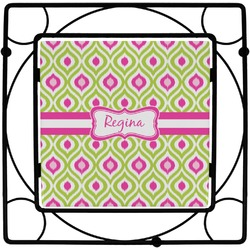 Ogee Ikat Trivet (Personalized)