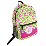 Ogee Ikat Student Backpack (Personalized)