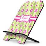 Ogee Ikat Stylized Tablet Stand (Personalized)