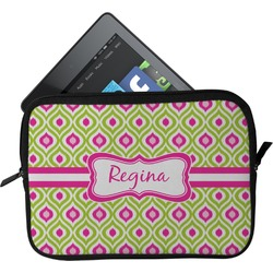 Ogee Ikat Tablet Case / Sleeve (Personalized)