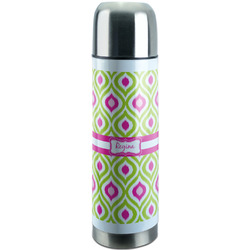 Ogee Ikat Stainless Steel Thermos (Personalized)