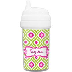 Ogee Ikat Sippy Cup (Personalized)