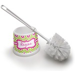 Ogee Ikat Toilet Brush (Personalized)