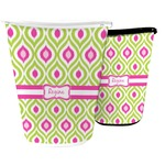 Ogee Ikat Waste Basket (Personalized)