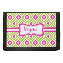 Ogee Ikat Trifold Wallet (Personalized)