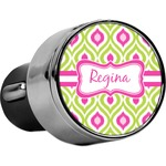 Ogee Ikat USB Car Charger (Personalized)