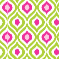 Ogee Ikat Wallpaper & Surface Covering