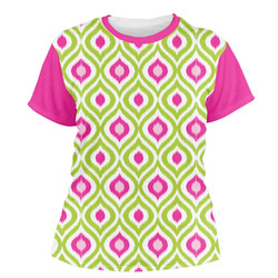 Ogee Ikat Women's Crew T-Shirt (Personalized)