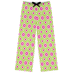 Ogee Ikat Womens Pajama Pants (Personalized)