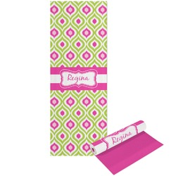 Ogee Ikat Yoga Mat - Printable Front and Back (Personalized)
