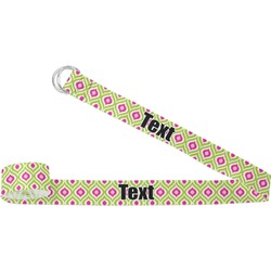 Ogee Ikat Yoga Strap (Personalized)