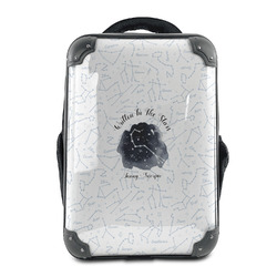 Zodiac Constellations Hard Shell Backpack (Personalized)