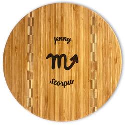 Zodiac Constellations Bamboo Cutting Board (Personalized)