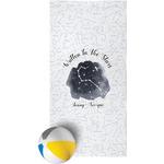 Zodiac Constellations Beach Towel (Personalized)