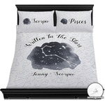 Zodiac Constellations Duvet Cover Set (Personalized)