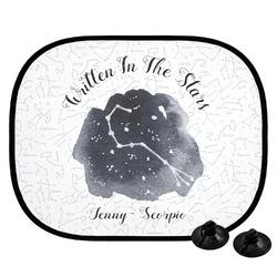 Zodiac Constellations Car Side Window Sun Shade (Personalized)