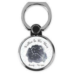 Zodiac Constellations Cell Phone Ring Stand & Holder (Personalized)